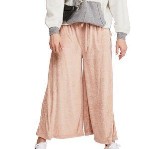 Free People Make It Maxi Wide Leg Pants Size M